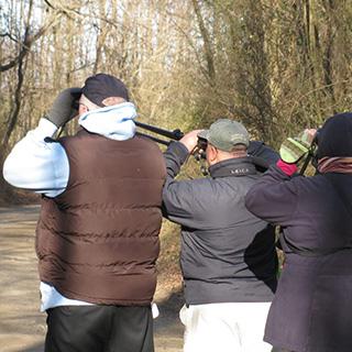 Field trip leader Brad Merritt (middle) © Tyler Christensen