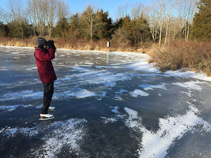 """Skate Birding"" helps gets birders up close to the action for censuses Christmas Bird Count Princeton"