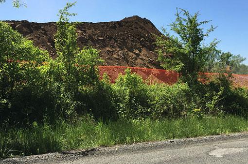 Transco Leidy construction on Princeton Ridge